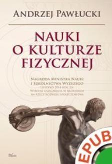 Ebook Nauki o kulturze fizycznej pdf