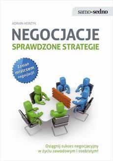 Chomikuj, ebook online Negocjacje. Sprawdzone strategie. Adrian Horzyk