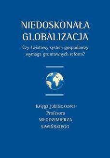 Ebook Niedoskonała globalizacja pdf