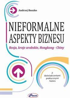 Chomikuj, ebook online Nieformalne aspekty biznesu. Andrzej Buszko