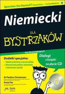 Chomikuj, pobierz ebook online Niemiecki dla bystrzaków. Paulina Christensen
