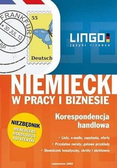 Chomikuj, ebook online Niemiecki w pracy i biznesie. Korespondencja handlowa. Ebook. Iwona Kienzler