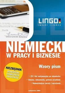Chomikuj, ebook online Niemiecki w pracy i biznesie. Wzory pism. Ebook. Iwona Kienzler