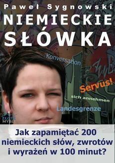 Chomikuj, ebook online Niemieckie słówka. Paweł Sygnowski
