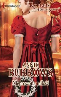 Chomikuj, ebook online Nieproszona miłość. Annie Burrows