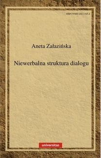 Chomikuj, ebook online Niewerbalna struktura dialogu. Aneta Załazińska