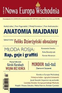 Chomikuj, pobierz ebook online Nowa Europa Wschodnia 2/2014. zbiorowe zbiorowe