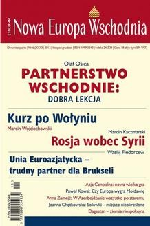 Chomikuj, ebook online Nowa Europa Wschodnia 6/2013. zbiorowe zbiorowe