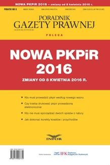 Chomikuj, ebook online Nowa PKPIR 2016 – zmiany od 8 kwietnia 2016 r.. INFOR PL SA