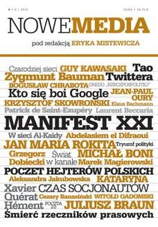 Ebook NOWE MEDIA pod redakcją Eryka Mistewicza Kwartalnik 4/2013 pdf