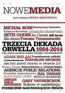 Chomikuj, ebook online NOWE MEDIA pod redakcją Eryka Mistewicza Kwartalnik 6/2013. Eryk Mistewicz