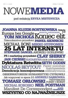 Chomikuj, ebook online NOWE MEDIA pod redakcją Eryka Mistewicza Kwartalnik 7/2014. Eryk Mistewicz
