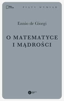 Chomikuj, ebook online O matematyce i mądrości. Ennio De Giorgi