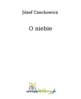 Ebook O niebie pdf