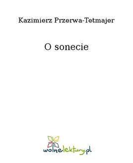 Ebook O sonecie pdf