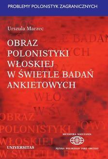 Chomikuj, ebook online Obraz polonistyki włoskiej w świetle badań ankietowych. Marzec Urszula