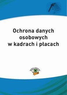 Chomikuj, ebook online Ochrona danych osobowych w jednostkach publicznych. Maria Kucharska-Fiałkowska