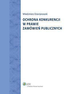 Ebook Ochrona konkurencji w prawie zamówień publicznych pdf