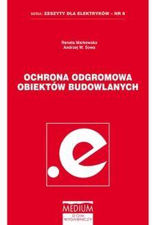 Chomikuj, ebook online Ochrona odgromowa obiektów budowlanych. Renata Markowska