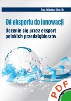 Ebook Od eksportu do innowacji. Uczenie się przez eksport polskich przedsiębiorstw pdf