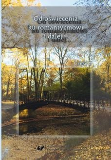 Chomikuj, ebook online Od oświecenia ku romantyzmowi i dalej… Autorzy – dzieła – czytelnicy. Cz. 6. red. Maria Janoszka