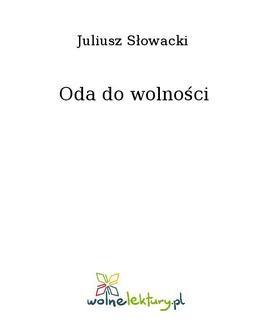 Ebook Oda do wolności pdf