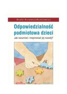 Chomikuj, ebook online Odpowiedzialność podmiotowa dzieci. Beata Krzywosz-Rynkiewicz