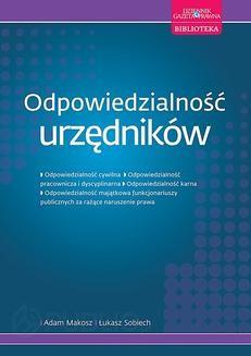 Chomikuj, ebook online Odpowiedzialność urzędników. Adam Makosz