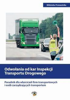 Ebook Odwołania od kar Inspekcji Transportu Drogowego pdf