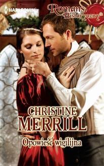 Chomikuj, ebook online Opowieść wigilijna. Christine Merrill