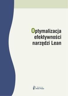 Chomikuj, ebook online Optymalizacja efektywności narzędzi Lean. Dominika Babalska