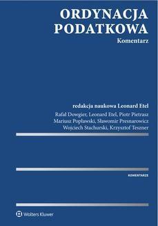 Ebook Ordynacja podatkowa. Komentarz pdf