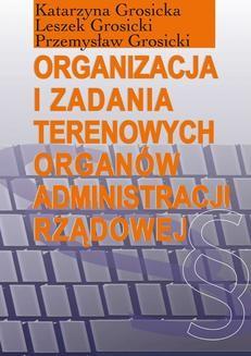 Ebook Organizacja i zadania terenowych organów administracji rządowej pdf