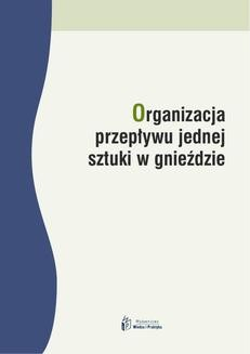 Chomikuj, ebook online Organizacja przepływu jednej sztuki w gnieździe. Joanna Czerska