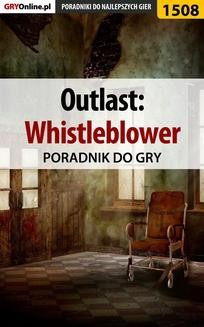Ebook Outlast: Whistleblower – poradnik do gry pdf