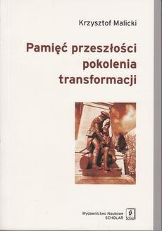 Ebook Pamięć przeszłości pokolenia transformacji pdf