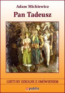 Chomikuj, ebook online Pan Tadeusz. Adam Mickiewicz