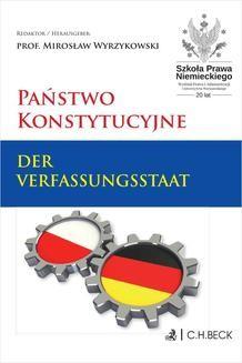 Chomikuj, ebook online Państwo konstytucyjne. Der Verfassungsstaat. Mirosław Wyrzykowski