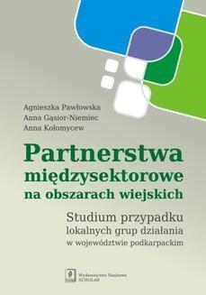 Chomikuj, ebook online Partnerstwa międzysektorowe na obszarach wiejskich. Anna Gąsior-Niemiec