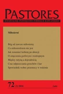 Chomikuj, ebook online Pastores 72 (3) 2016. Zespół redakcyjny