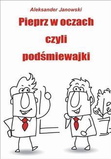 Ebook Pieprz w oczach czyli podśmiewajki pdf