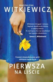 Chomikuj, ebook online Pierwsza na liście. Magdalena Witkiewicz