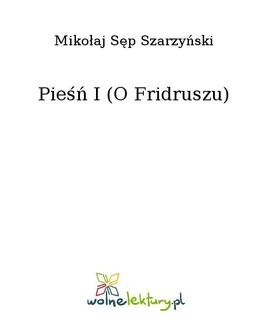Ebook Pieśń I (O Fridruszu) pdf