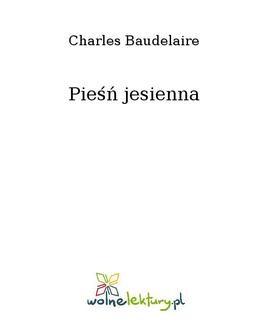 Ebook Pieśń jesienna pdf