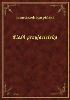 Chomikuj, ebook online Pieśń przyjacielska. Franciszek Karpiński