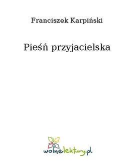 Ebook Pieśń przyjacielska pdf