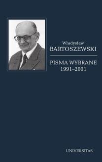 Chomikuj, ebook online Pisma wybrane, 1991-2001. Władysław Bartoszewski