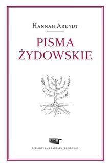 Chomikuj, ebook online Pisma żydowskie. Hannah Arendt