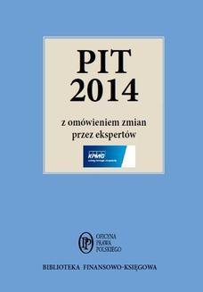 Ebook PIT 2014 z omówieniem ekspertów KPMG pdf