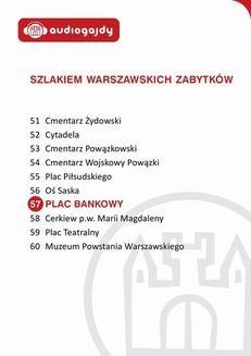 Chomikuj, ebook online Plac Bankowy. Szlakiem warszawskich zabytków. Ewa Chęć